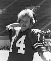 IU quarterback Tim Clifford in 1978. (Photo: Courtesy of IU Archives)